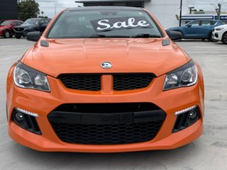 2013 Holden Special Vehicles ClubSport Gen-F MY14 R8 Orange 6 Speed Manual Sedan