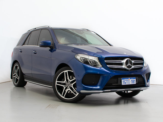 Used Mercedes-Benz GLE350d 4Matic 166 MY17 , 2017 Mercedes-Benz GLE350d 4Matic 166 MY17 Blue 9 Speed Automatic Wagon