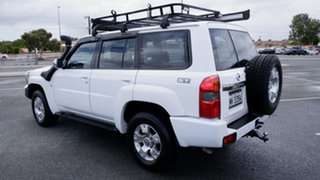 2006 Nissan Patrol GU IV MY06 ST White 4 Speed Automatic Wagon