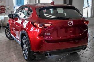 2020 Mazda CX-5 KF4WLA Akera SKYACTIV-Drive i-ACTIV AWD Red 6 Speed Sports Automatic Wagon
