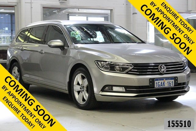 Used Volkswagen Passat 3C MY16 132 TSI Bentley, 2016 Volkswagen Passat 3C MY16 132 TSI Silver 7 Speed Auto Direct Shift Wagon