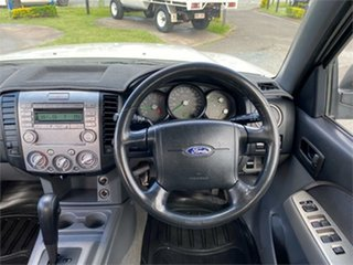 2008 Ford Ranger PJ XL Hi-Rider White 5 Speed Automatic Utility