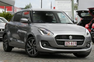 2020 Suzuki Swift AZ GLX Turbo Premium Silver 6 Speed Sports Automatic Hatchback