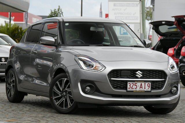 Demo Suzuki Swift AZ GLX Turbo Mount Gravatt, 2020 Suzuki Swift AZ GLX Turbo Premium Silver 6 Speed Sports Automatic Hatchback