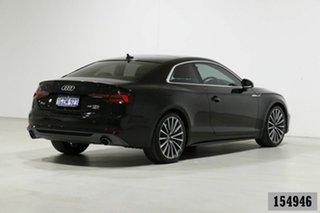 2019 Audi A5 F5 MY19 45 TFSI Quattro S Tronic Sport Black 7 Speed Auto Dual Clutch Coupe