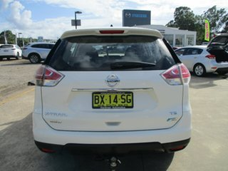 2014 Nissan X-Trail T32 TS 4WD White 6 Speed Manual Wagon