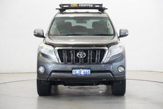 2015 Toyota Landcruiser Prado GDJ150R GXL Grey 6 Speed Sports Automatic Wagon.