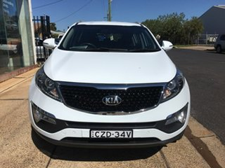 2014 Kia Sportage SL SLi White Sports Automatic