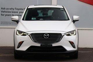 2017 Mazda CX-3 DK4W7A Akari SKYACTIV-Drive i-ACTIV AWD Snowflake White 6 Speed Sports Automatic.