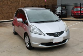 2009 Honda Jazz GE GLi Silver 5 Speed Manual Hatchback.