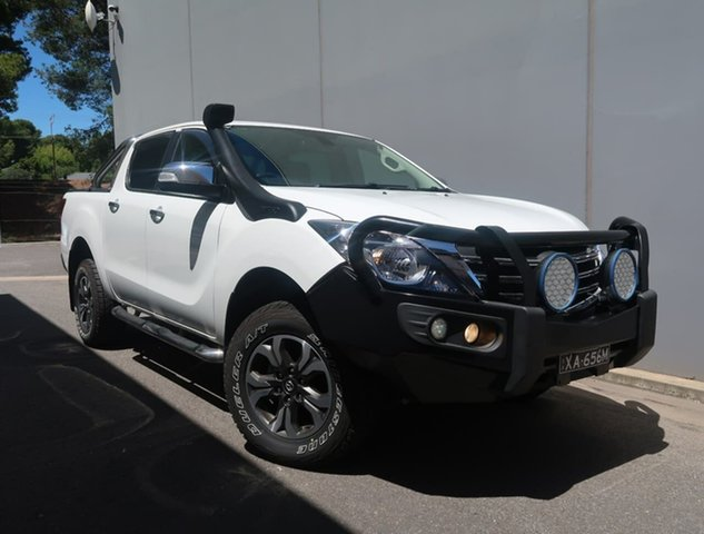 Used Mazda BT-50 UR0YG1 GT Reynella, 2018 Mazda BT-50 UR0YG1 GT White 6 Speed Sports Automatic Utility