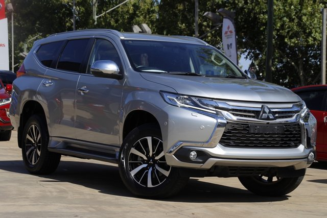 Used Mitsubishi Pajero Sport QE MY18 Exceed Toowoomba, 2018 Mitsubishi Pajero Sport QE MY18 Exceed Silver 8 Speed Sports Automatic Wagon