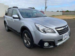 2013 Subaru Outback B5A MY14 3.6R AWD Premium Ice Silver 5 Speed Sports Automatic Wagon.