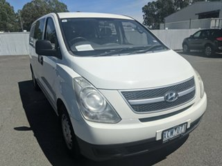 2008 Hyundai iLOAD TQV Crew Cab White 5 Speed Manual Van.