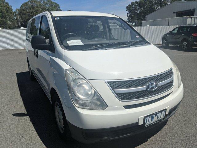 Used Hyundai iLOAD Crew Cab Epsom, 2008 Hyundai iLOAD TQV Crew Cab White 5 Speed Manual Van