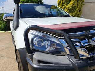 2012 Isuzu D-MAX MY12 LS-U Crew Cab White 5 Speed Manual Utility.