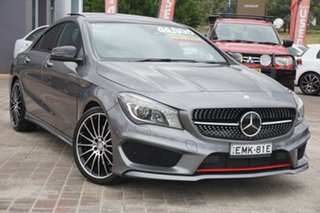 2016 Mercedes-Benz CLA-Class C117 806MY CLA250 DCT 4MATIC Sport Grey 7 Speed.