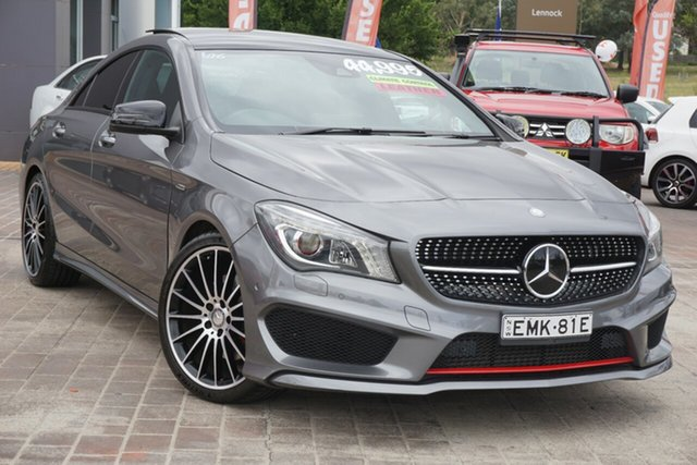 Used Mercedes-Benz CLA-Class C117 806MY CLA250 DCT 4MATIC Sport Phillip, 2016 Mercedes-Benz CLA-Class C117 806MY CLA250 DCT 4MATIC Sport Grey 7 Speed