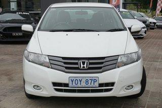 2010 Honda City GM MY10 VTi-L Taffeta White 5 Speed Manual Sedan.