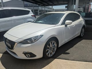 2013 Mazda 3 White 6 Speed Automatic Sedan