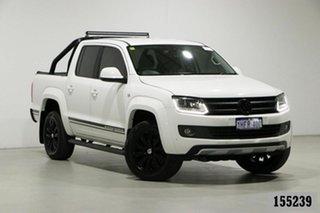 2016 Volkswagen Amarok 2H MY16 TDI420 Atacama (4x4) White 8 Speed Automatic Dual Cab Utility.