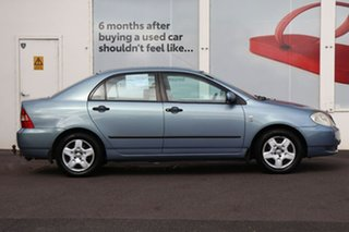 2003 Toyota Corolla ZZE122R Ascent Blue 4 Speed Automatic Sedan