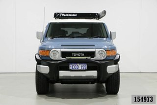 2013 Toyota FJ Cruiser GSJ15R MY14 Blue 5 Speed Automatic Wagon.