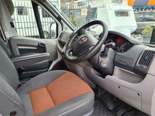 2010 Fiat Ducato White Motor Home