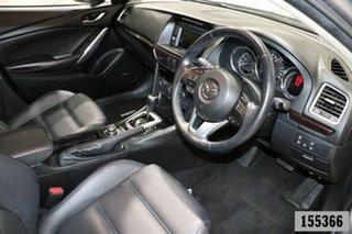 2014 Mazda 6 6C Atenza Silver 6 Speed Automatic Sedan