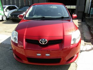 2009 Toyota Corolla ZRE152R Ascent Red 6 Speed Manual Hatchback