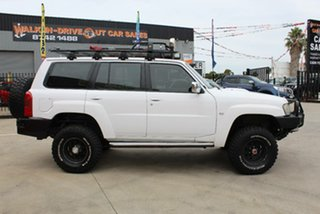 2006 Nissan Patrol GU IV ST (4x4) White 4 Speed Automatic Wagon