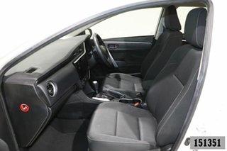2017 Toyota Corolla ZRE172R MY17 SX White 7 Speed CVT Auto Sequential Sedan