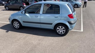 2008 Hyundai Getz TB MY09 SX Blue 5 Speed Manual Hatchback