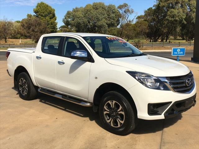 Used Mazda BT-50 UR0YG1 XTR Berri, 2019 Mazda BT-50 UR0YG1 XTR White 6 Speed Sports Automatic Utility