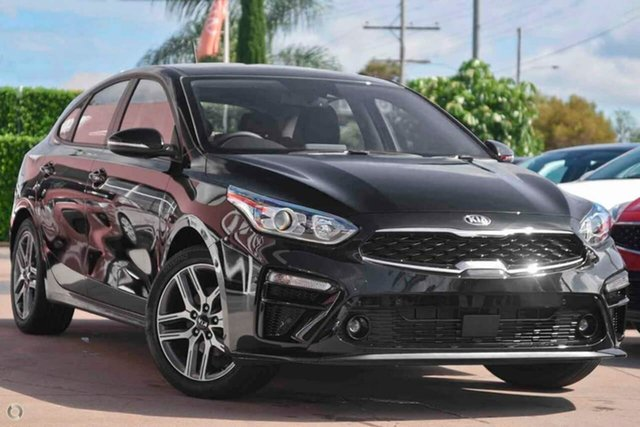 New Kia Cerato BD MY21 Sport+ Reynella, 2020 Kia Cerato BD MY21 Sport+ Black 6 Speed Sports Automatic Hatchback