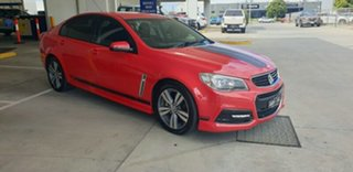 2013 Holden Commodore VF MY14 SV6 Red 6 Speed Sports Automatic Sedan