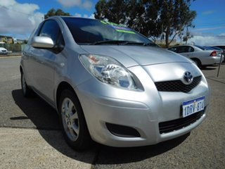 2011 Toyota Yaris NCP90R MY11 YR Silver 4 Speed Automatic Hatchback