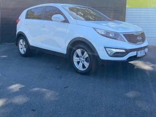 2010 Kia Sportage SL SI White 6 Speed Sports Automatic Wagon.