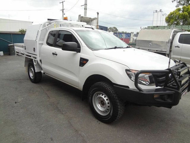 Used Ford Ranger PX XL 3.2 (4x4) Coopers Plains, 2012 Ford Ranger PX XL 3.2 (4x4) White 6 Speed Manual Super Cab Chassis