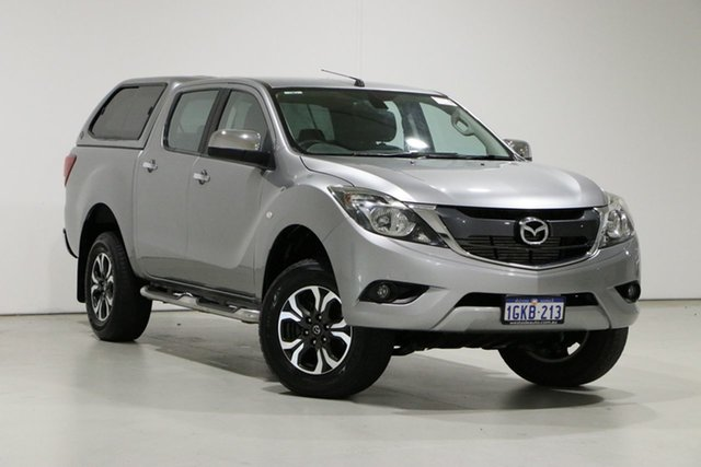 Used Mazda BT-50 MY17 Update XTR (4x4) Bentley, 2017 Mazda BT-50 MY17 Update XTR (4x4) Grey 6 Speed Manual Dual Cab Utility