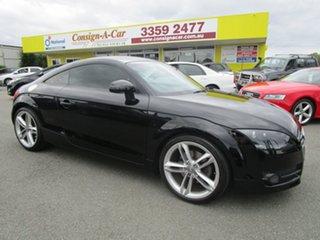 2007 Audi TT 8J S Tronic Black 6 Speed Sports Automatic Dual Clutch Coupe.