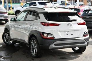 2020 Hyundai Kona Os.v4 MY21 Active (FWD) ATLAS WHITE Continuous Variable Wagon.