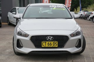 2017 Hyundai i30 GD4 SERIES II M Active Platinum Silver 6 Speed Sports Automatic Hatchback.