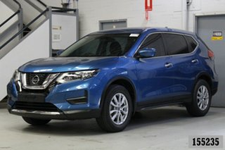 2018 Nissan X-Trail T32 Series 2 ST (2WD) Blue Continuous Variable Wagon.