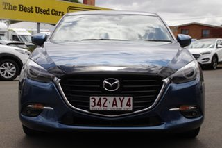 2018 Mazda 3 BN5238 SP25 SKYACTIV-Drive GT Blue 6 Speed Sports Automatic Sedan.
