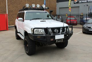 2006 Nissan Patrol GU IV ST (4x4) White 4 Speed Automatic Wagon.