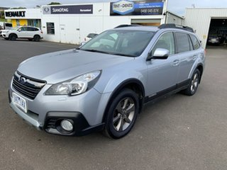 2013 Subaru Outback B5A MY14 3.6R AWD Premium Ice Silver 5 Speed Sports Automatic Wagon.
