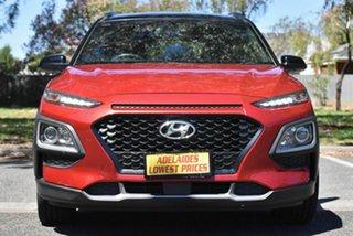 2017 Hyundai Kona OS MY18 Launch Edition 2WD Red 6 Speed Sports Automatic Wagon.