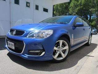 2016 Holden Commodore VF II MY16 SV6 Sportwagon Blue 6 Speed Sports Automatic Wagon.