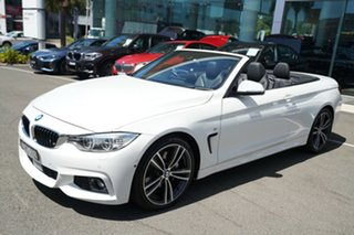 2016 BMW 440i F32 MY16.5 40I Alpine White 8 Speed Automatic Convertible